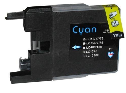 Druckpatrone für Brother, Typ BK1280C, cyan